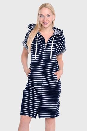 Ralph Lauren Navy Stripe hálóing