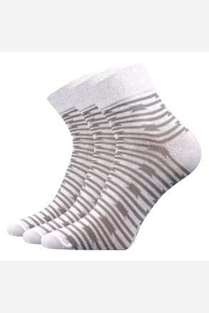 Ivana női zokni, 3 pár 1 csomagban