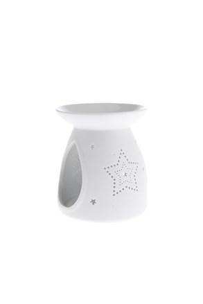 Porcelán aromalámpa csillagokkal