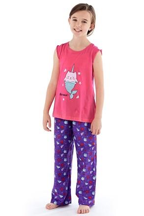 Mermaid lányka pizsama