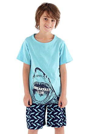 Shark fiú pizsama
