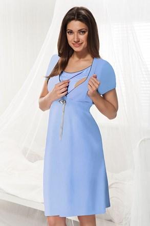 Dorota kismama, szoptatós hálóing, kék