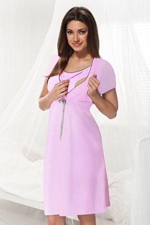 Dorota kismama, szoptatós hálóing, rózsaszín