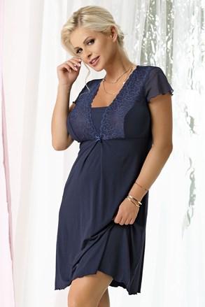 Kristel Navy blue női hálóing