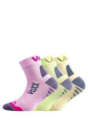 Kryptoxík lányka zokni, 3 pár 1 csomagban