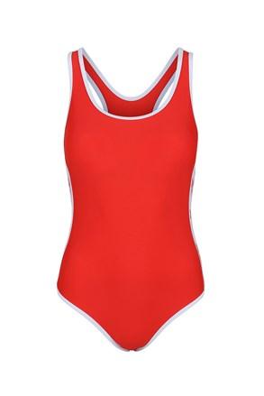 Reebok Alyssa Red egyrészes női fürdőruha