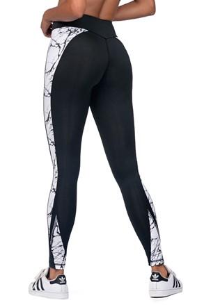 Stone fekete sport női leggings