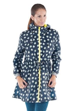 Daisy vízálló női dzseki-parka, zsebébe elcsomagolható