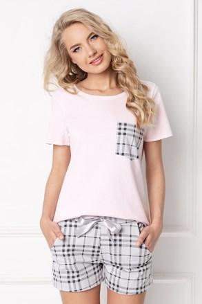 Londess női pizsama, rövid