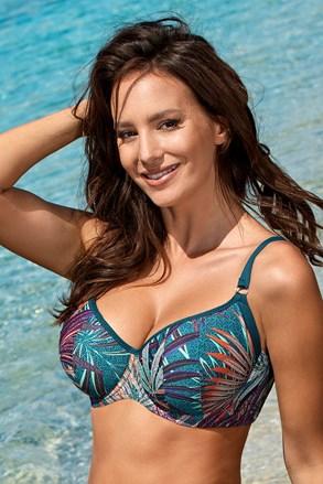 Magdalena green női bikinifelső