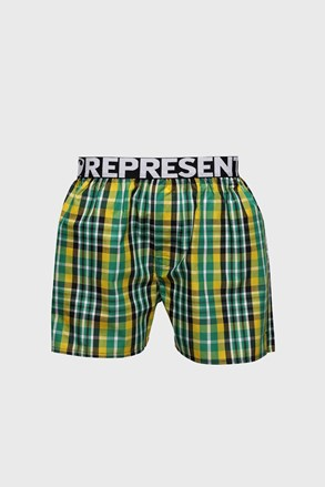 Sárga-zöld alsónadrág Represent Classic Mike