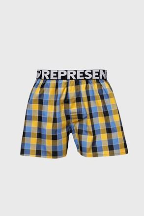 Kék-sárga alsónadrág Represent Classic Mike