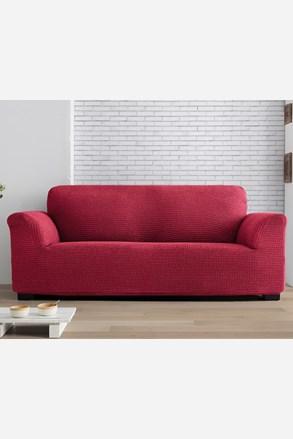 Milos kétszemélyes kanapéhuzat, piros
