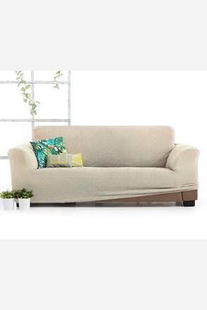 Milos háromszemélyes kanapéhuzat, krémszínű