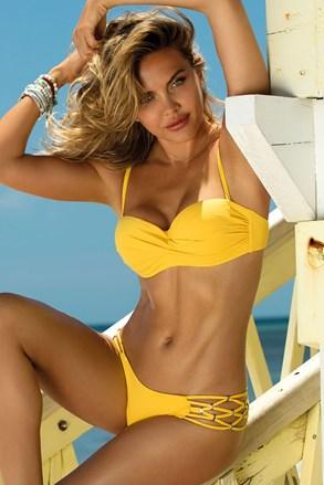 Sunny kétrészes női fürdőruha, sárga