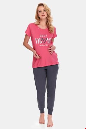 Best Mom Rose kismama pizsama, szoptatáshoz is