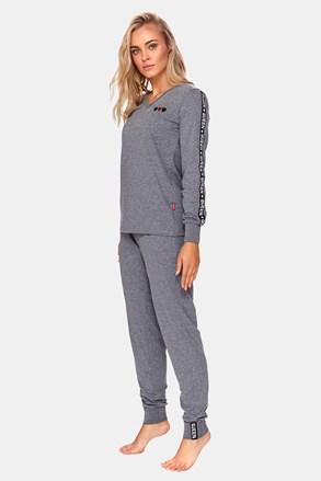 Queen női pizsama, szürke