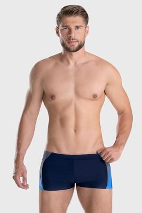 Boxeralsó szabású Peter férfi úszónadrág, kék