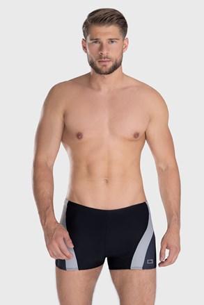Philip férfi úszónadrág, fekete-szürke