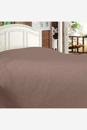 Bamboo luxus ágytakaró, barna