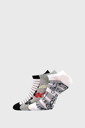 Piki 51 női zokni, 3 pár