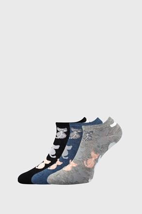 Piki 54 női zokni, 3 pár