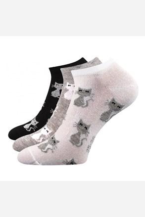Piki 55 női zokni, 3 pár 1 csomagban