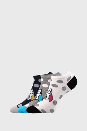 Piki 62 női zokni, 3 pár