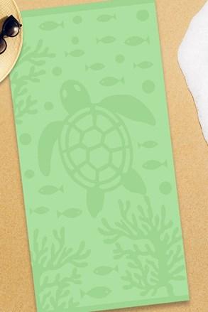 Green Tourtle strand fürdőlepedő