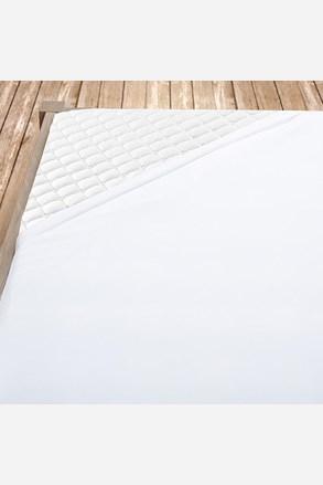 Flanel gumis lepedő fehér