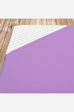 Flanel gumis lepedő lila