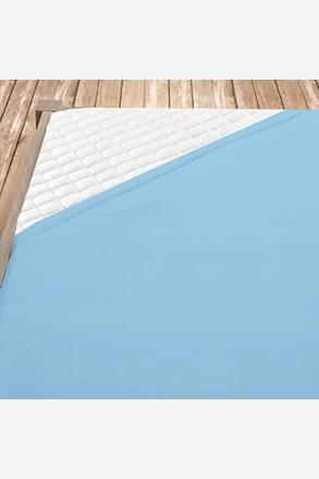 Flanel lepedő világos kék