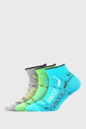 VOXX fiú alacsony sportzokni, 3 pár 1 csomagban