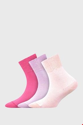 Romsek lányka zokni, 3 pár 1 csomagban