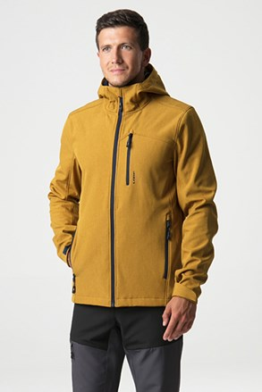 LOAP Lecar sárga softshell dzseki