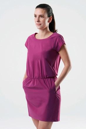 LOAP Umbria női ruha, rózsaszín