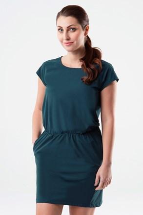 LOAP Umbria női ruha, zöld-kék