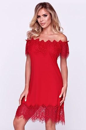 Sevilla elegáns női hálóing, piros