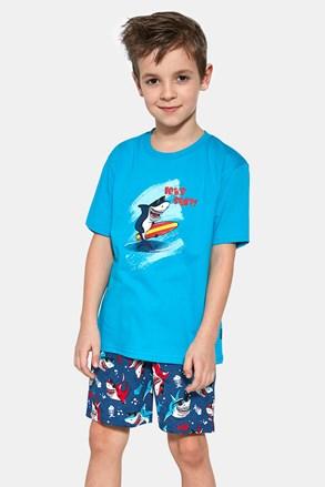 Shark surf fiú pizsama