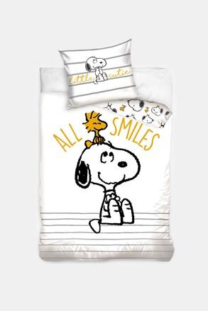 Snoopy Smile gyermek ágyneműhuzat