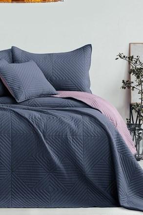 Softa ágytakaró, kék-lila
