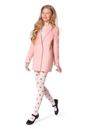 Solana pamut lányka harisnyanadrág, rózsaszínű