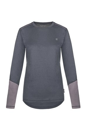 LOAP Peony női funkcionális póló, sötétszürke