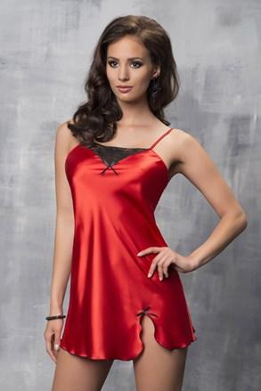 Tara Red luxus szatén hálóing