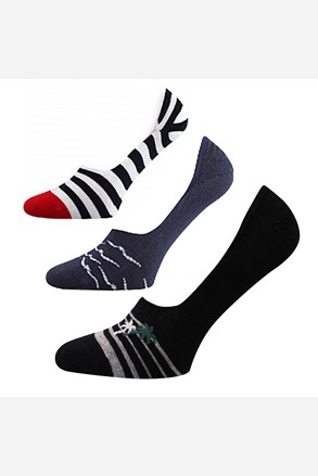 Vorty női zokni, 3 pár 1 csomagban