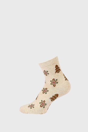 Gyermek karácsonyi zokni, Hópehely