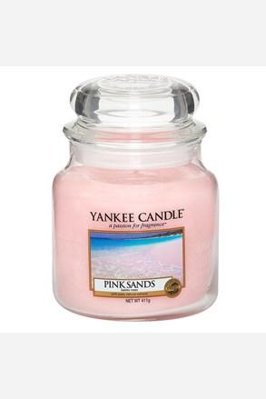 Yankee Candle gyertya Pink Sands, közepes