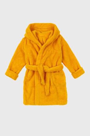 Simple lányka köntös, sárga