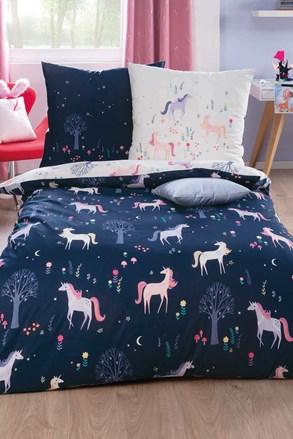 Unicorn luxus ágyneműhuzat, lányok részére