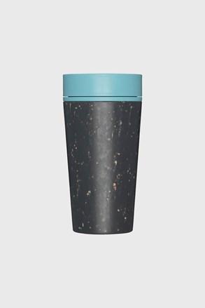 Rcup utazó bögre, kék, 340 ml